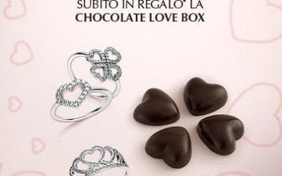Pandora a San Valentino – Chocolate Love Box